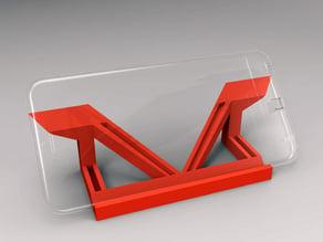 Phone Stand for iPhone 6 Plus - Remix Paradox Illusions Design -
