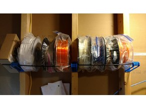 Filament Spool Storage Rack Stud-Mount Rod Holder