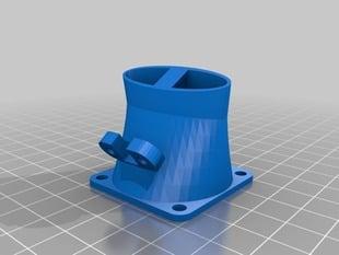 replicator PLA cooling fan mount