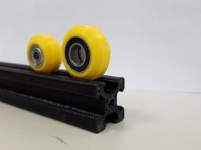 Modified V-slot wheels!