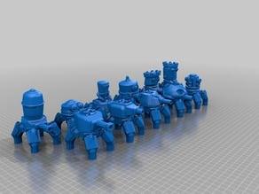 clockwork drones - steampunk automation