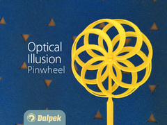 Optical Illusion Pinwheel v2