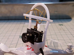 The Whoopinator- FPV Quad Camera Mount