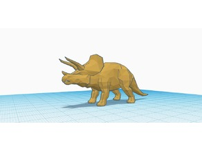 Low Polly Triceratops