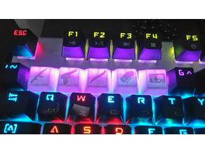 CS:GO Keycaps For Mechanical Keyboards