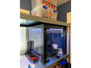 Improved lack enclosure with dry box ptfe tube connections and other upgrades