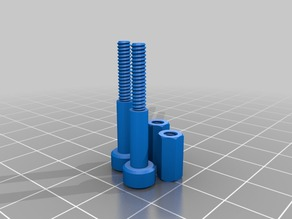 SMARS Modified Slave Wheel - 3d Printed Screws and Nuts for 28BYJ-48 Stepper Motor SMARS Variant