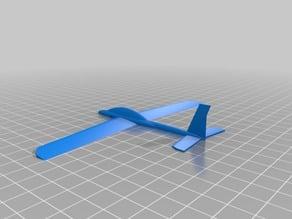 Rubberband Slingshot plane