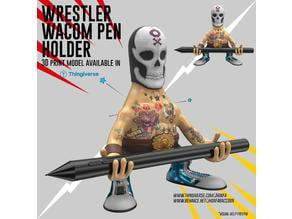 Wrestler Wacom Pen Holder