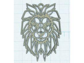 Geometric lion - Lion Géométrique