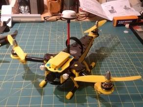 T280 3D Printed Mini FPV Tricopter