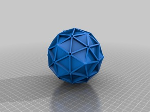 IcosahedronInscribedInsideSolidGeodesic2VSphere