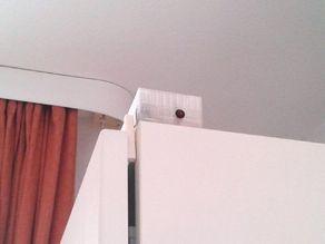 Fridge open door detector