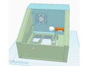 Ender 3 Electronics (LCD + PCB + Pi + Buck Converter) External Case