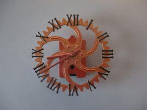 Roman Steampunk Clock