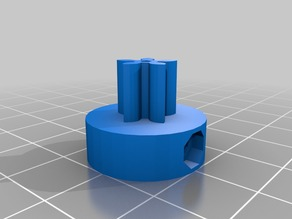 set of gears for collaborative extruder