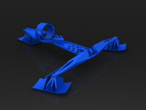 RC ducted fan Skier