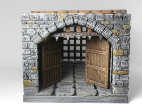 OpenForge Stone Gatehouse