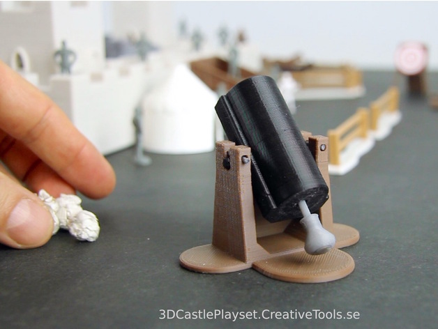 image relating to 3d Printable Tools referred to as Modular Castle Playset (3D-printable) by means of CreativeTools