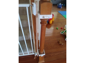 Baby Gate Bannister Adapter