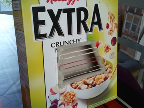 Cereal Box Instrument
