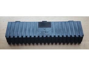 Battery slot cover for Yamaha MSX2 computer