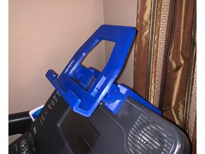 Tablet Holder / Stand with Clamp for Treadmill Adjustable Angle