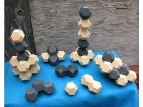 Truncated Octahedra as Children's Blocks