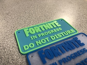 Fortnite Do Not Disturb Dual