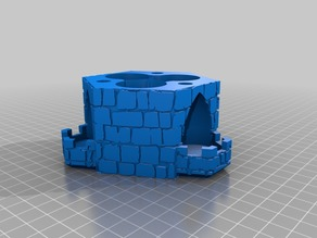 Three-Path Dice Tower - Randomizer