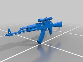 Scoped AK47