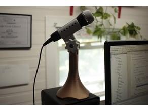 100% Printable Desktop Microphone Stand