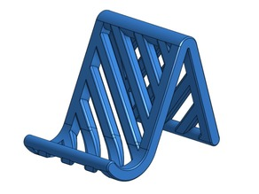Striped phone stand