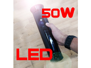 50W LED Flashlight HOUSING DIY