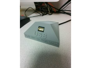 USB extension holder