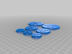 Hazard Symbol Miniature Bases