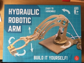 Thumbs UP hydraulic robotic arm - spares