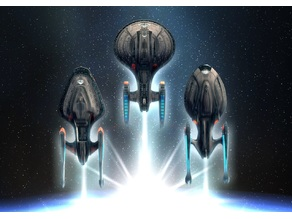 Star Trek Online Odyssey Class Flagship Variants