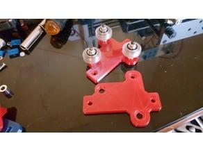 Cartesian One v2.5 V-Wheel Gantry Plate Remix