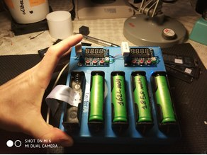 Battery 18650 charger and tester