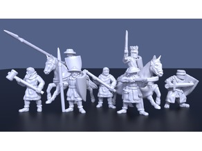 Medieval militia mix (28mm)