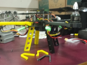 Central Landing Gear for Crossfire Quadcopter