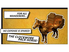 Clockwork Pack Horse