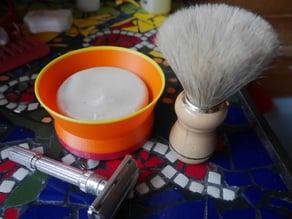 Shaving Soap Holder - parametric