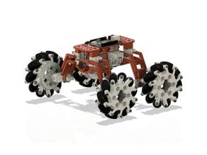 3D-printable robot platform