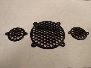 speaker grids (32 & 67 mm)