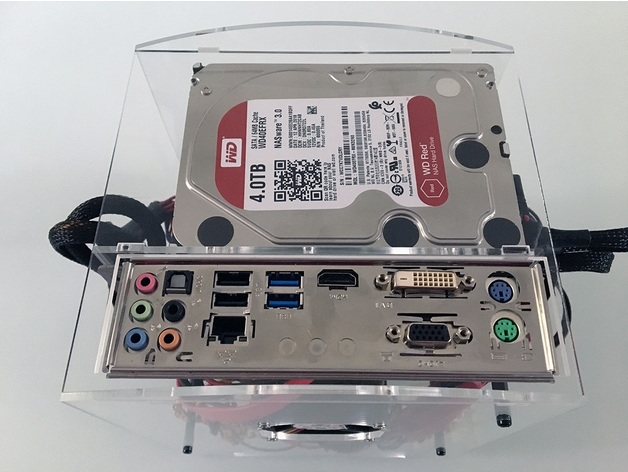 NAS Mini-ITX case top