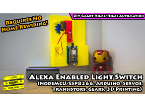Alexa Enabled Light Switch
