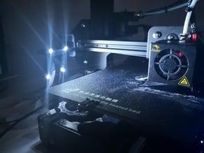 Creality Ender 3 Pi Cam Mount - LED Frame