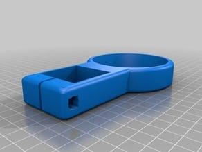 Ozito heatgun holster for 35x35mm Ikea Glivarp table leg